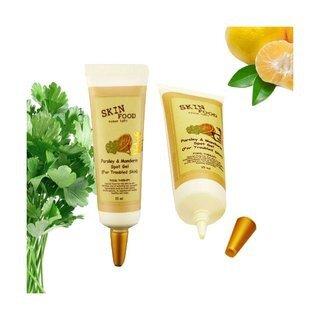 Gel đặc trị mụn làm mờ vết thâm Parsley mandarin spot gel Skinfood 15ml