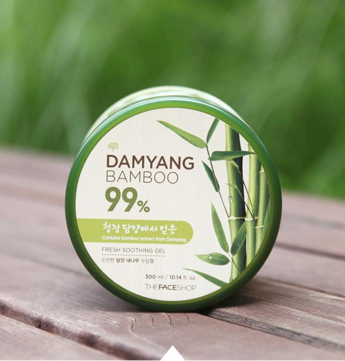 Gel dưỡng ẩm và làm dịu da từ tre DamYang Bamboo 99% Fresh Soothing Gel