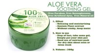 Gel dưỡng da ALoe Vera Smoothing Gel 3W Clinic 100%