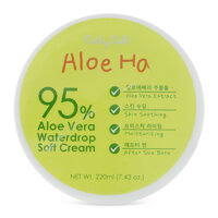 Gel dưỡng da body Cathy Doll Aloe Ha Vera Waterdrop Soft Cream 220ml