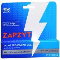 Gel hỗ trợ điều trị mụn Zapzyt Maximum Strength 10% Benzoyl