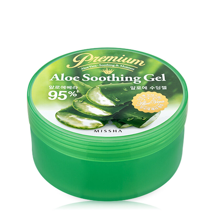 Gel lô hội làm dịu da Missha Premium Aloe Soothing Gel 285ml