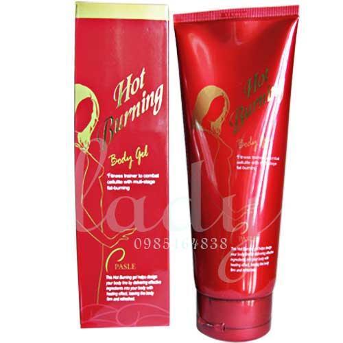 Gel massage tan mỡ Pasle Hot Burning Body Gel 200ml