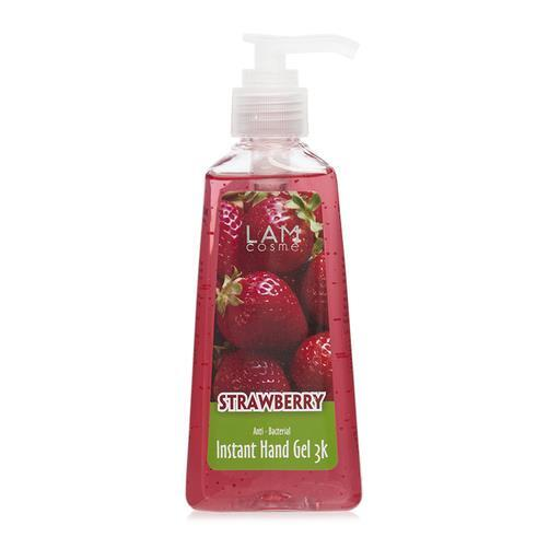Gel rửa tay khô hương dâu Lamcosmé Instant Hand Gel Strawberry 240ml