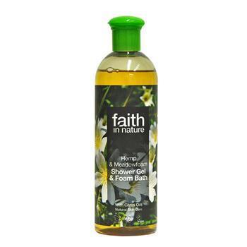 Gel tắm giữ ẩm và làm trẻ làn da từ cây gai dầu và cỏ Hemp & Meadowfoam Shower Gel
