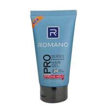 Gel tạo kiểu tóc siêu cứng 24h Romano Pro Series Hair Gel 150g