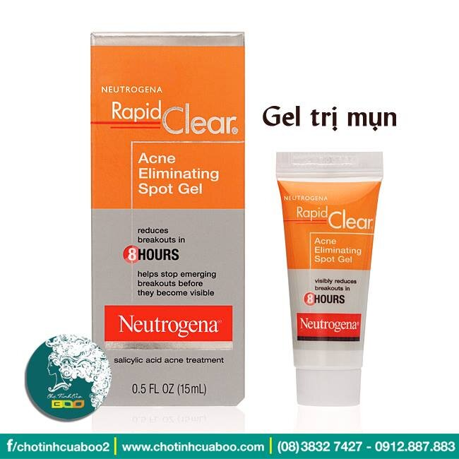 Gel trị mụn Neutrogena Rapid Clear Acne Eliminating Spot