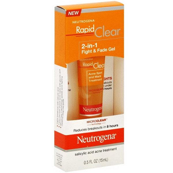 Gel trị mụn, thâm Neutrogena Rapid Clear® Fight & Fade 2-In-1