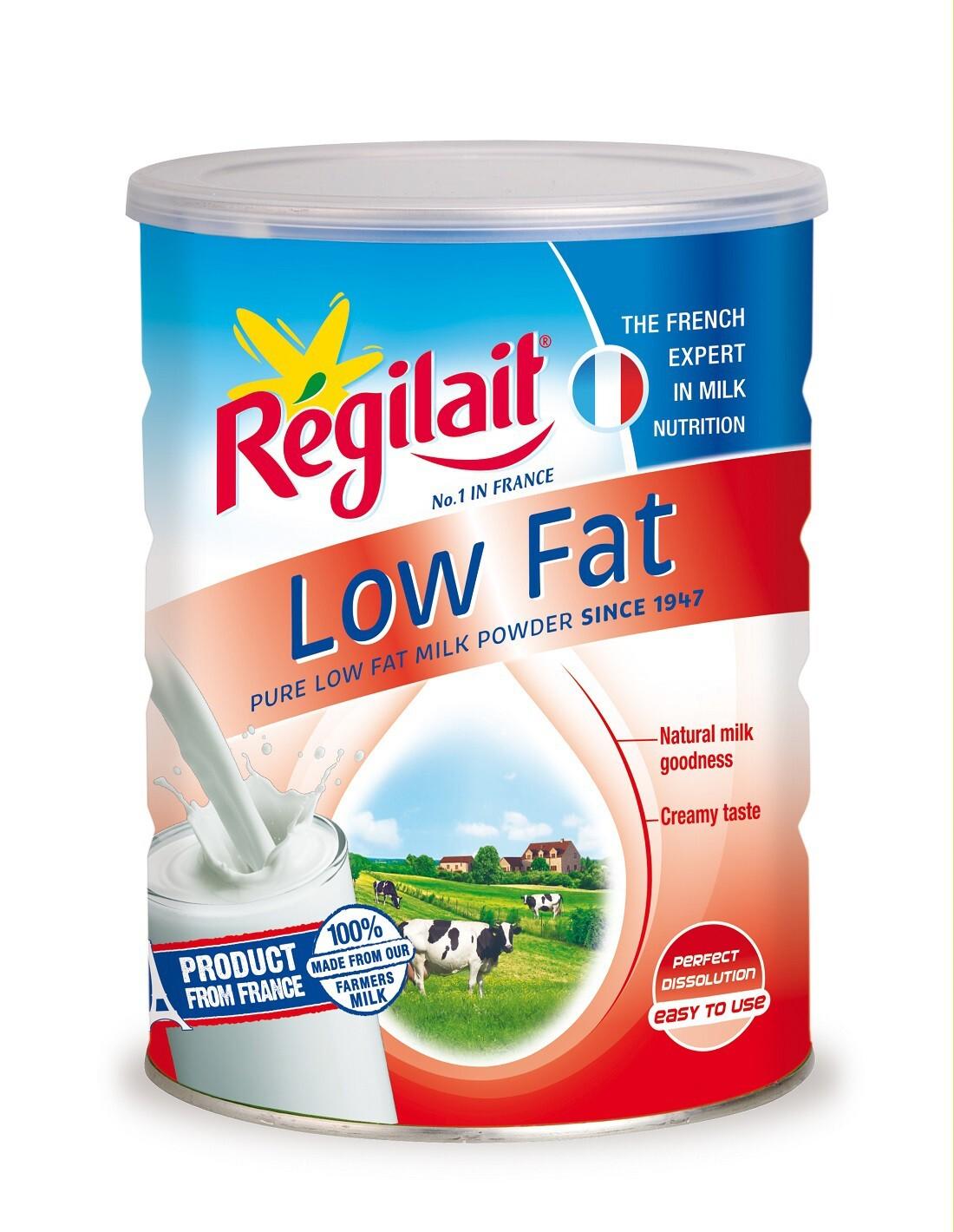 Sữa bột ít béo Regilait Law Fat - hộp 800g