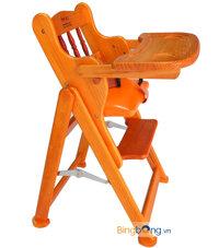 Ghế ăn cho bé bằng gỗ có điều chỉnh độ cao Veesano VM213