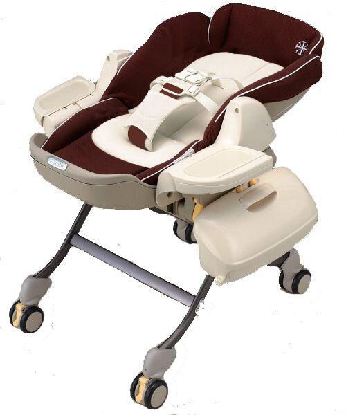 Ghế ăn cho bé và nôi ngủ Combi Roanju RW490