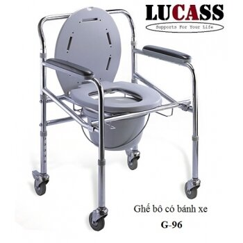 Ghế bô có bánh xe Lucass G696
