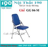 Ghế gấp khung inox Nội thất 190 GG04-IN