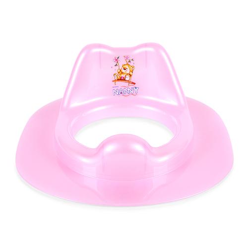 Ghế lót ngồi toilet cho bé Nanny N287 – màu xanh/ hồng