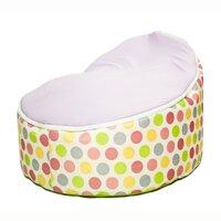 Ghế lười em bé 70x50x20cm-Chấm bi Polka-tím-TRBTODPOL-004