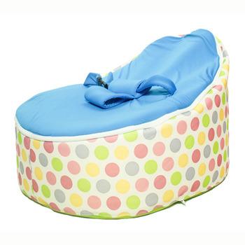 Ghế lười em bé có đai an toàn chấm bi Polka TRBBABPOL-003 70x50x20cm