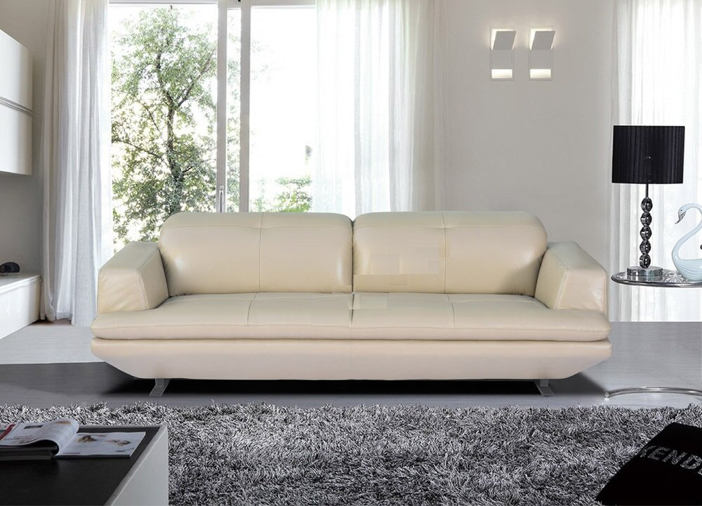 Ghế sofa da văn phòng Hòa Phát cao cấp SF311A-3DaloaiA