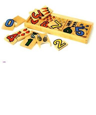 Ghép hình hoa quả và chữ số Benho YT5085