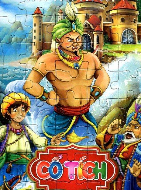 Ghép Hình Trí Tuệ - Cổ Tích Aladin