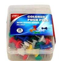 Ghim mũ nhựa màu Deli - 0021