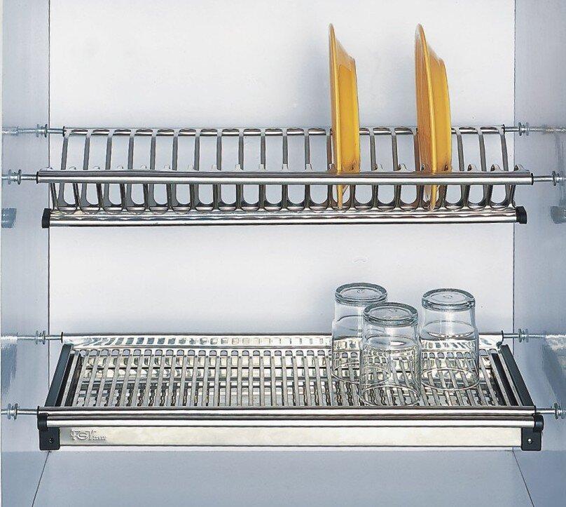 Giá để bát đĩa trong tủ bếp Eurogold EU.01060