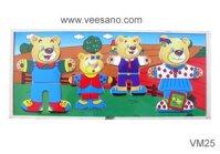 Gia đình gấu 4 con Veesano VM25