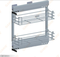 Giá gia vị Garis MK02E.20L/R inox 304
