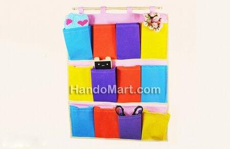 Giá treo đồ colorful 12 ngăn