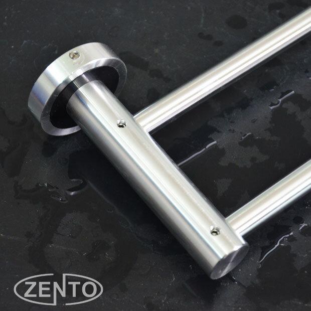 Giá treo khăn kép hợp kim nhôm ZentoLS0028