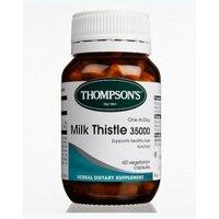Giải độc gan Thompson Milk Thistle 35000mg 60 viên