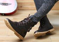 Giày Boot nam cao cổ buộc dây BA1020