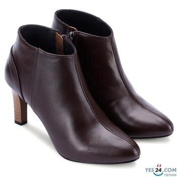 Giày boot nữ Huy hoàng da bò HH7038