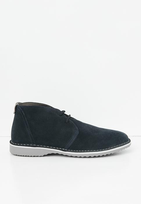 Giày Bốt Cổ Ngắn Da U ZAL C