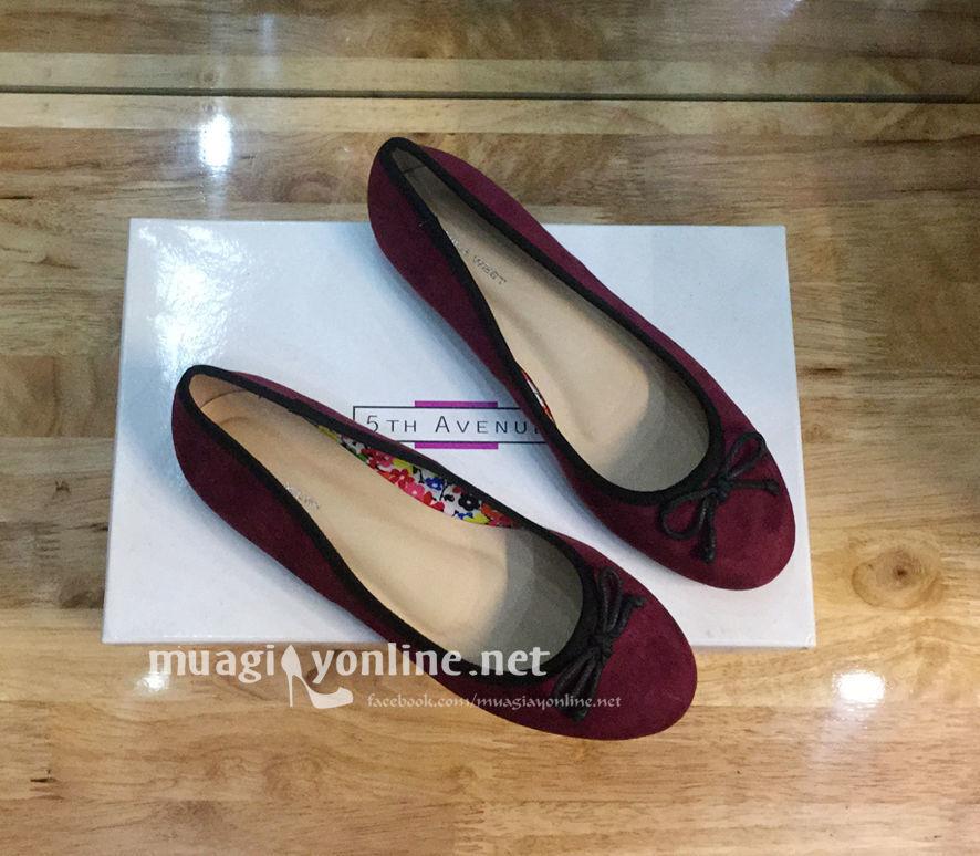 Giày Búp Bê Đính Nơ Vanessa 0215