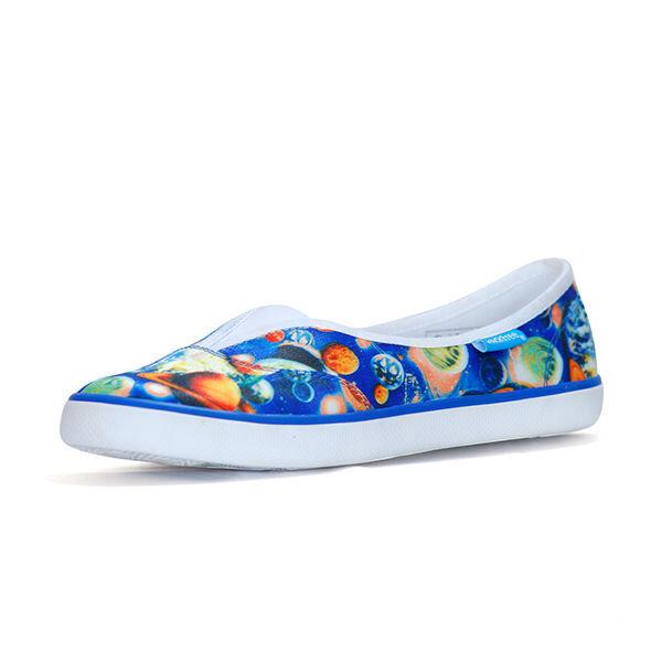 Giày búp bê nữ màu xanh QuickFree Fashion B160102-002