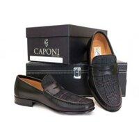 Giày da nam Caponi 4561