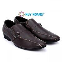 Giày da nam Huy Hoàng màu nâu - HH7111