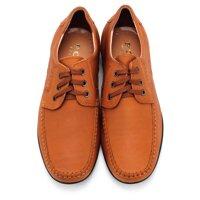 Giày da nam màu da bò MB672