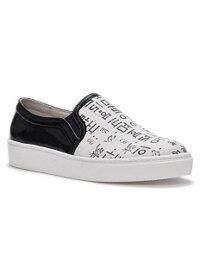 Giày da Slip on thể thao Unisex (Trắng đen) - U01KOREAN