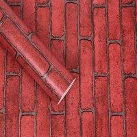 Giấy dán tường gạch đỏ 1 BINBIN DTL37 - 5m