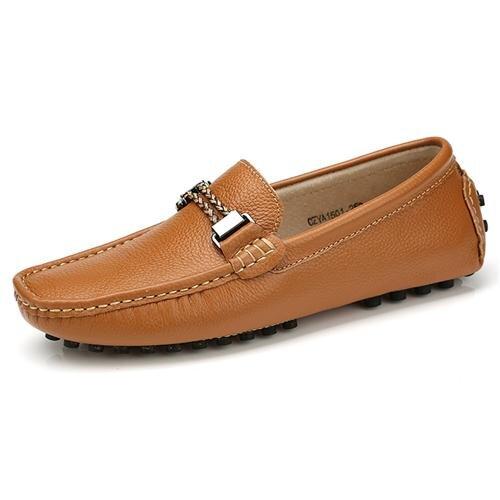 Giày lười nam da bò Olunpo CZYA1501