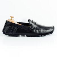 Giày lười nam đai ngang phối màu GNLA268-BL1-D