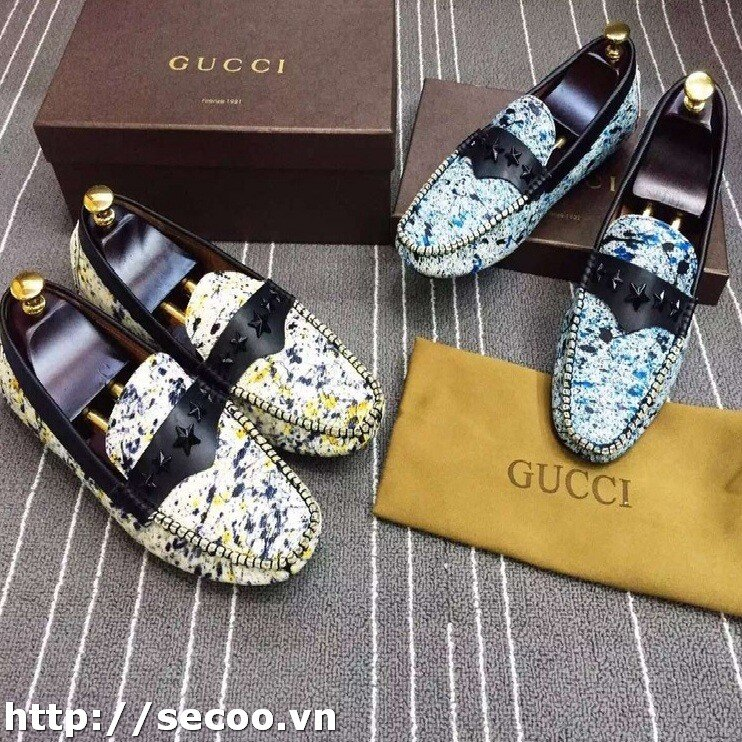 Giày lười nam Gucci 013