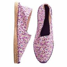 Giày lười nữ họa tiết hoa xinh xắn SR3B9F4W1V