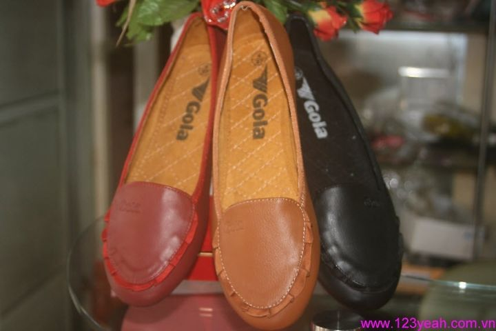 Giày mọi búp bê mũi nhúng da Gola sành điệu GM78