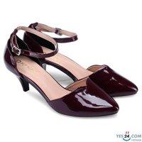 Giày nữ sandal Huy Hoàng màu nho HH7013
