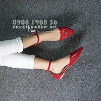 Giày sandal bệt cắt laser Vanessa