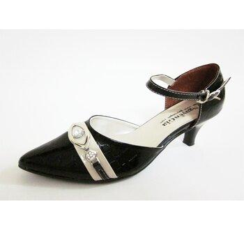 Giày Sandal Cao Gót Bít Mũi Nữ