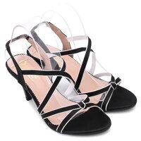 Giày sandal cao gót Huy Hoàng HH7057