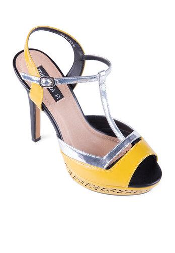 Giày sandal nhọn cao gót cao 12 phân Mirabella SDN575
